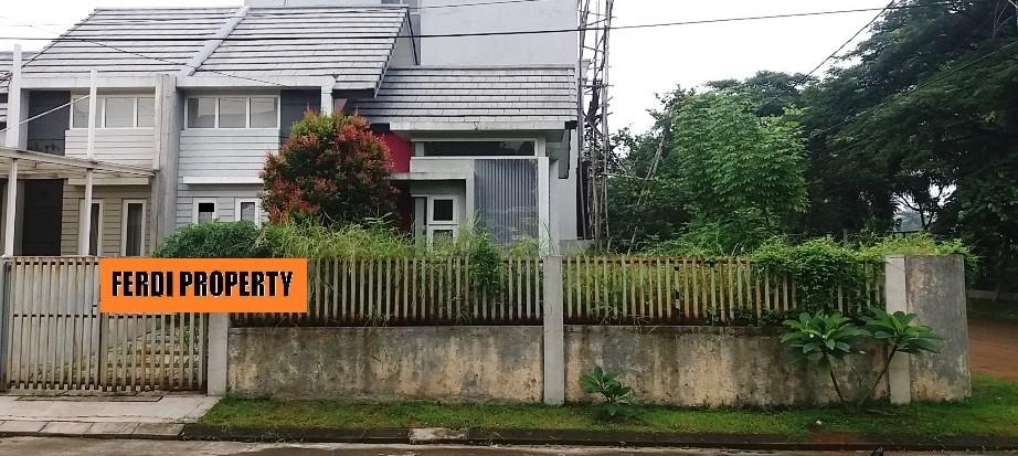 Rumah Hoek Luas Tanah Besar Harga Nego, Bukit Golf Cibubur