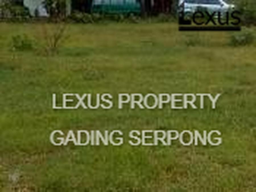 Dijual Kavling Posisi hoek di Kawasan Anggrek Loka BSD Tangerang