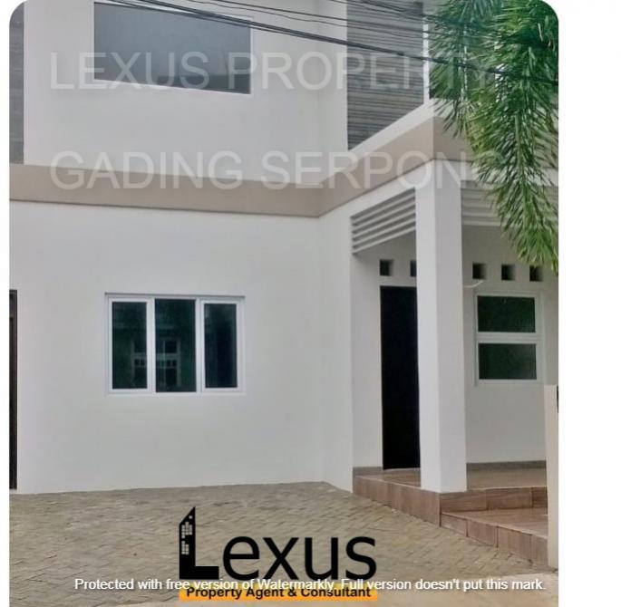 Dijual Cepat Rumah siap huni di Villa Melati Mas Serpong Tangerang