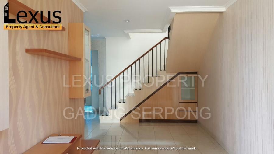 Rumah 2 lantai di Rolling Hills cluster Ventura Karawaci Tangerang