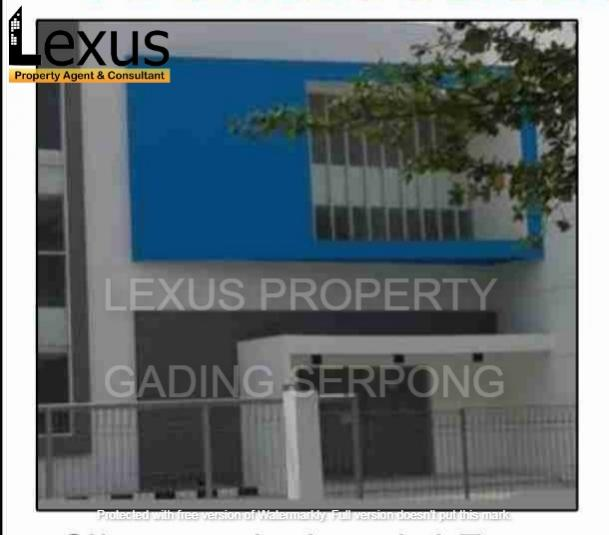 Dijual pabrik di Cikarang Industrial Estate, Jababeka V, Cikarang, Bekasi